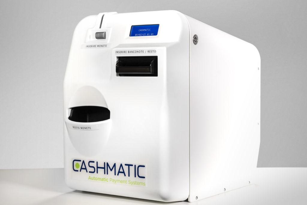 Progetto di comunicazione integrata per Casmatic, macchine automatiche di pagamento